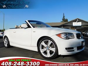 2011 BMW 1 Series 128i Audio Cd Player Convenience Automatic Headlights Convenience Rain Sens