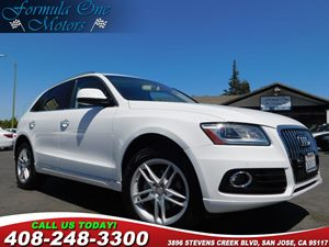 2015 Audi Q5 Premium Plus Audi Guard Cargo Mat Bang  Olufsen Sound System Premium Plus Package