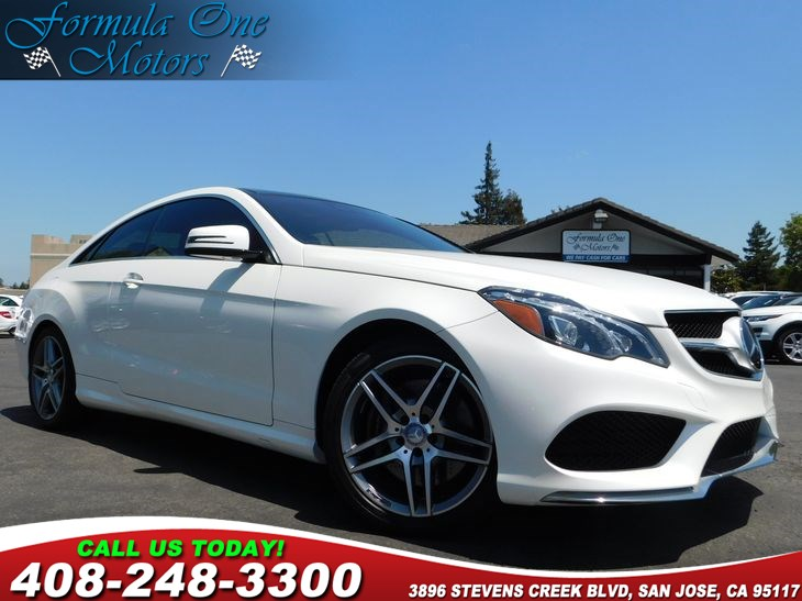 2015 MERCEDES E 550 Coupe Heated  Active Ventilated Front Seats Keyless Go Premium 1 Package S