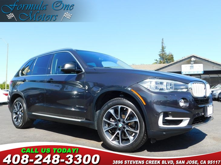 2014 BMW X5 xDrive35i 40-20-40 Folding Split-Bench Front Facing Fold Forward Seatback Rear Seat A