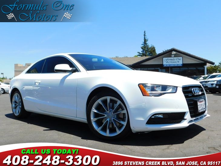 2014 Audi A5 Premium 60-40 Folding Bench Front Facing Fold Forward Seatback Rear Seat Air Conditi