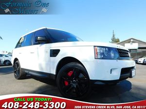 2013 Land Rover Range Rover Sport SC 8-Way Pwr Front Heated Bucket Seats -Inc Folding Armrests A