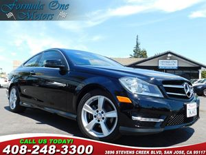 2014 MERCEDES C 250 Coupe 60-40 Folding Split-Bench Front Facing Fold Forward Seatback Rear Seat