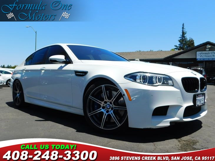 2014 BMW M5   Alpine White All advertised prices exclude government fees and taxes any finance