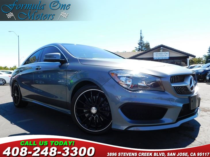 2015 MERCEDES CLA 250 Coupe  Mountain Gray Metallic All advertised prices exclude government fe