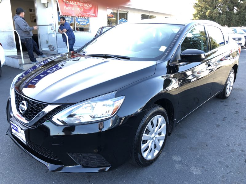 2017 Nissan Sentra SV  Super Black All advertised prices exclude government fees and taxes any
