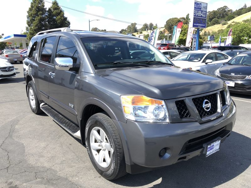 2008 Nissan Armada SE  Gray All advertised prices exclude government fees and taxes any financ