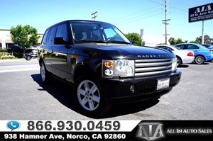 View 2004 Land Rover Range Rover