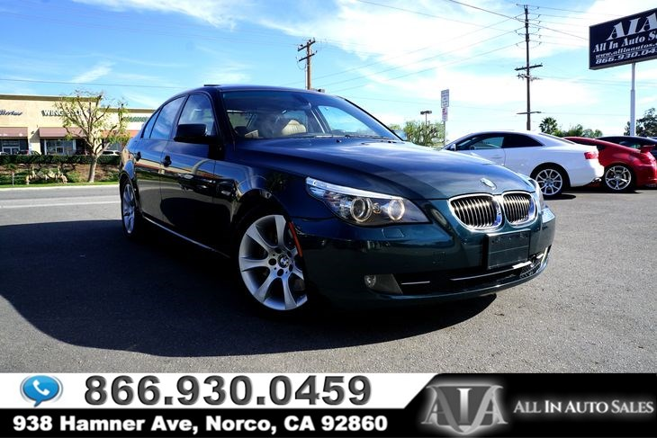Used BMW Series I In Norco - 535i bmw price