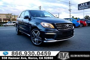 View 2015 Mercedes-Benz ML 63