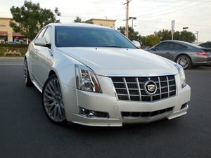 View 2012 Cadillac CTS Sedan
