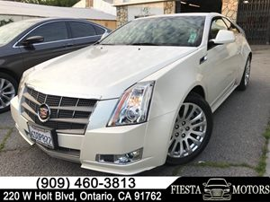 View 2011 Cadillac CTS Coupe