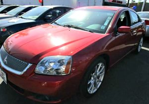 2012 Mitsubishi Galant ES Carfax 1-Owner - No Accidents  Damage Reported to CARFAX Audio  AmFm
