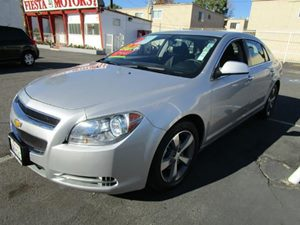 2012 Chevrolet Malibu LT w1LT Carfax 1-Owner - No Accidents  Damage Reported to CARFAX  Silve