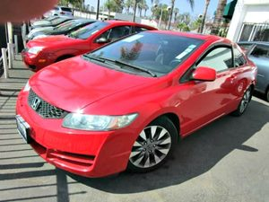 2009 Honda Civic Cpe EX Carfax Report - No Accidents  Damage Reported to CARFAX 12V Pwr Outlets-