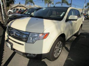 2008 Ford Edge Limited Carfax 1-Owner - No Accidents  Damage Reported to CARFAX  Creme Brulee