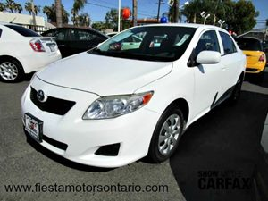 2010 Toyota Corolla  Carfax Report - No Accidents  Damage Reported to CARFAX Air Conditioning