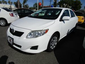2010 Toyota Corolla  Carfax Report - No Accidents  Damage Reported to CARFAX  Super White  Pur