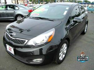2013 Kia Rio EX Carfax 1-Owner - No Accidents  Damage Reported to CARFAX 6040 Split-Folding Rea