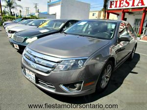 2011 Ford Fusion SEL Carfax Report - No Accidents  Damage Reported to CARFAX Aluminum Wheels Au