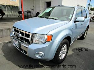 2008 Ford Escape Hybrid Carfax Report - No Accidents  Damage Reported to CARFAX 6-Way Pwr Driver