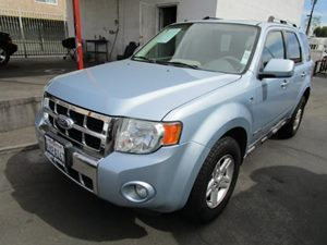2008 Ford Escape Hybrid Carfax Report - No Accidents  Damage Reported to CARFAX  Light Ice Blue