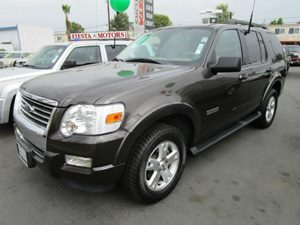 2007 Ford Explorer XLT Carfax 1-Owner - No Accidents  Damage Reported to CARFAX  Carbon Metalli