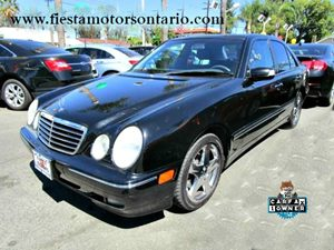 2001 MERCEDES E430 Sedan Carfax 1-Owner - No Accidents  Damage Reported to CARFAX  Power Door Lo