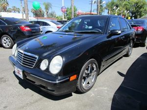 2001 MERCEDES E430 Sedan Carfax 1-Owner - No Accidents  Damage Reported to CARFAX  Black  Pur