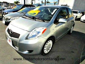 2007 Toyota Yaris  Carfax Report - No Accidents  Damage Reported to CARFAX Air Conditioning  A