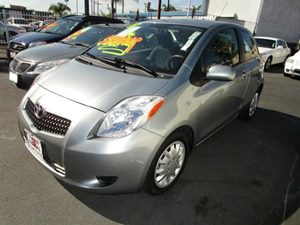 2007 Toyota Yaris  Carfax Report - No Accidents  Damage Reported to CARFAX  Silver Streak Mica