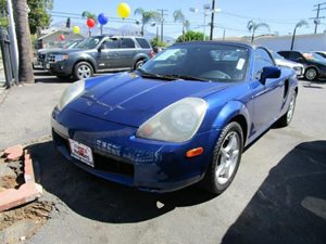 2002 Toyota MR2 Spyder  Carfax Report - No Accidents  Damage Reported to CARFAX Color-Keyed Bump