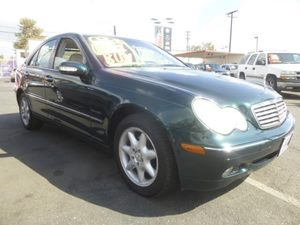 2003 MERCEDES C240 Sedan Carfax Report - No Accidents  Damage Reported to CARFAX  Everest Gree