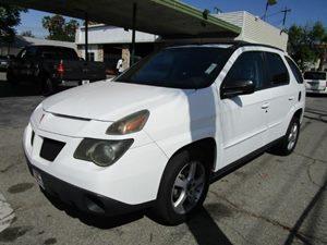 2003 Pontiac Aztek  Carfax 1-Owner - No Accidents  Damage Reported to CARFAX  Summit White  W