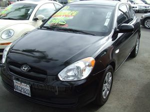 2010 Hyundai Accent Blue Carfax Report - No Accidents  Damage Reported to CARFAX  Ebony Black