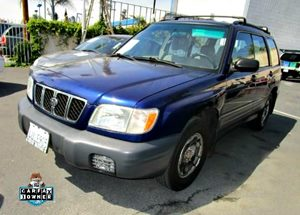 2002 Subaru Forester L Carfax 1-Owner 3 Cargo Area Subfloor Storage Compartments1 Storage Bu