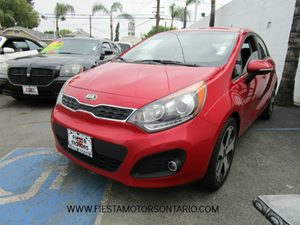2013 Kia Rio SX Carfax Report - No Accidents  Damage Reported to CARFAX Black Grille WChrome Su