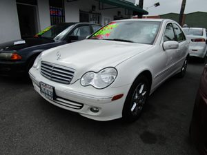 2007 MERCEDES C280 Luxury Sedan Carfax Report - No Accidents  Damage Reported to CARFAX Air Cond