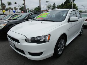 2014 Mitsubishi Lancer ES Carfax 1-Owner - No Accidents  Damage Reported to CARFAX  Wicked Whi