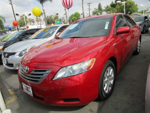 2008 Toyota Camry Hybrid  Carfax Report - No Accidents  Damage Reported to CARFAX Pwr TiltSlide