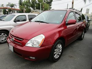 2008 Kia Sedona EX Carfax 1-Owner - No Accidents  Damage Reported to CARFAX Roof Rail Cross Bars