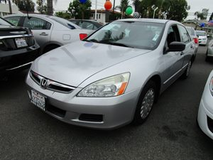 2007 Honda Accord Sdn VP Carfax Report - No Accidents  Damage Reported to CARFAX  Alabaster Sil
