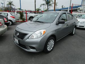 2013 Nissan Versa S Carfax 1-Owner - No Accidents  Damage Reported to CARFAX 12V Pwr Outlet 15