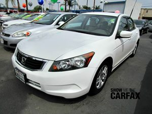 2010 Honda Accord Sdn LX-P Carfax 1-Owner - No Accidents  Damage Reported to CARFAX Cruise Contr