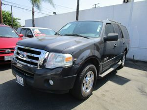 2007 Ford Expedition XLT Carfax Report 3Rd Row Seating Aluminum Wheels Audio  Auxiliary Audio