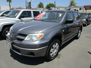 2006 Mitsubishi Outlander LS Carfax Report - No Accidents  Damage Reported to CARFAX 8-Way Adjus