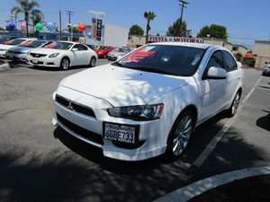 2009 Mitsubishi Lancer GTS Carfax 1-Owner - No Accidents  Damage Reported to CARFAX 18 10-Spok
