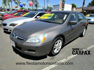 2006 Honda Accord Sdn EX Carfax Report Aluminum Wheels Cruise Control Epa Fuel Economy Est - Ci