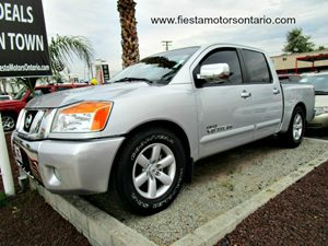 2011 Nissan Titan SV Carfax Report  Power Door Locks  Power Windows 4 Full-Size Doors Alloy