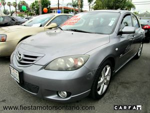 2004 Mazda Mazda3 s Carfax 1-Owner - No Accidents  Damage Reported to CARFAX Aluminum Wheels Bo